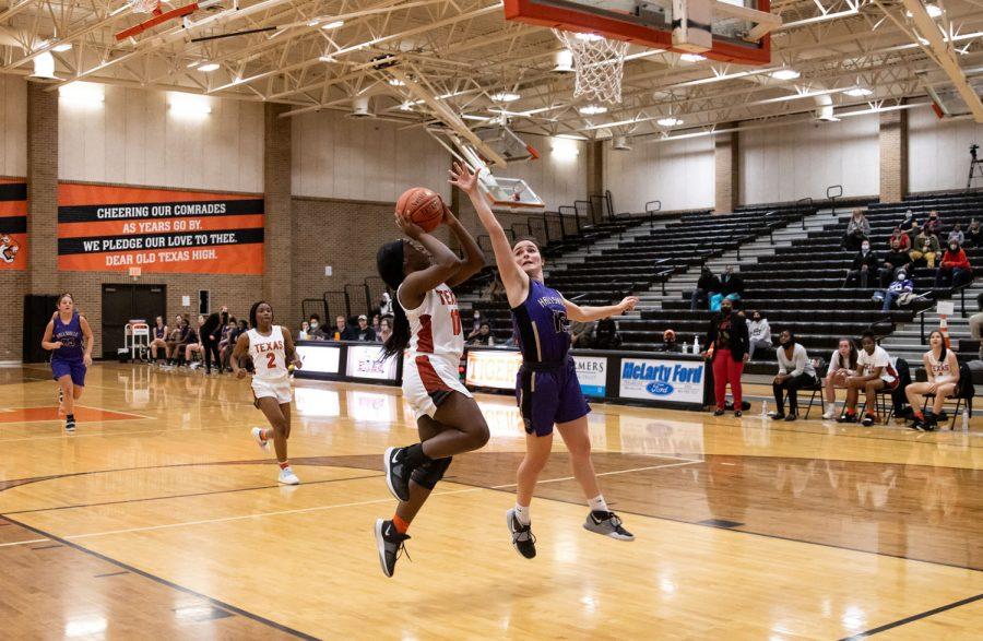 THS v. Hallsville girls varsity basketball