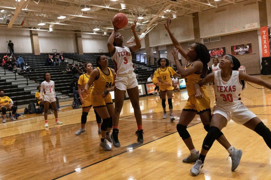 THS v. Pine Tree girls varsity basketball
