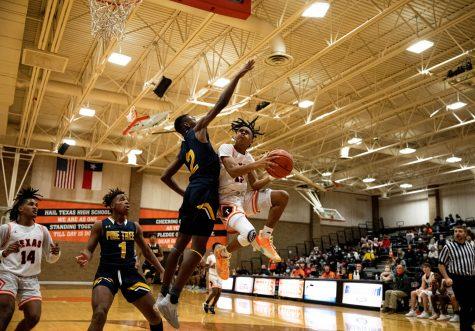 THS v. Pine Tree varsity boys basketball