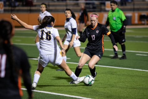 THS v. Pine Tree girls varsity soccer