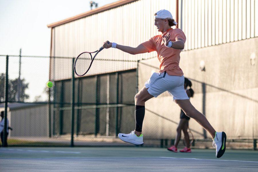 THS vs. Longview varsity tennis