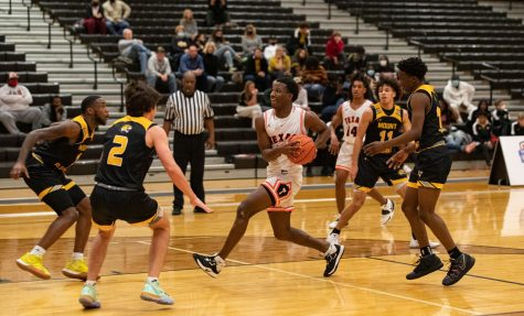THS vs. Mount Pleasant boys varsity basketball