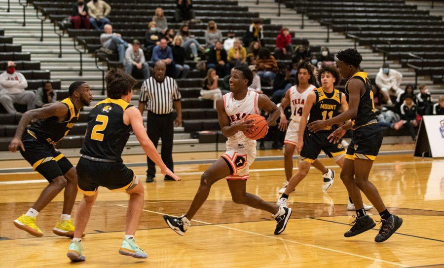 THS vs. Mount Pleasant boys varsity basketball