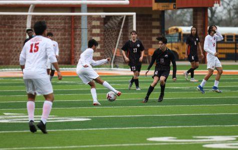 THS v. Marshall boys varsity soccer