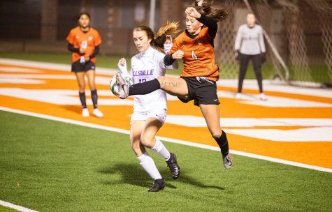 THS v. Hallsville girls varsity soccer