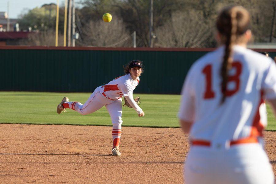 THS vs. Sulphur Springs varsity softball