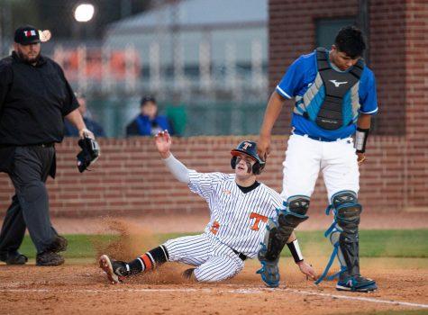 THS vs. Sulphur Springs varsity baseball