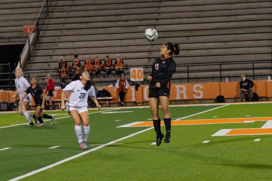 THS vs. Longview varsity girls soccer