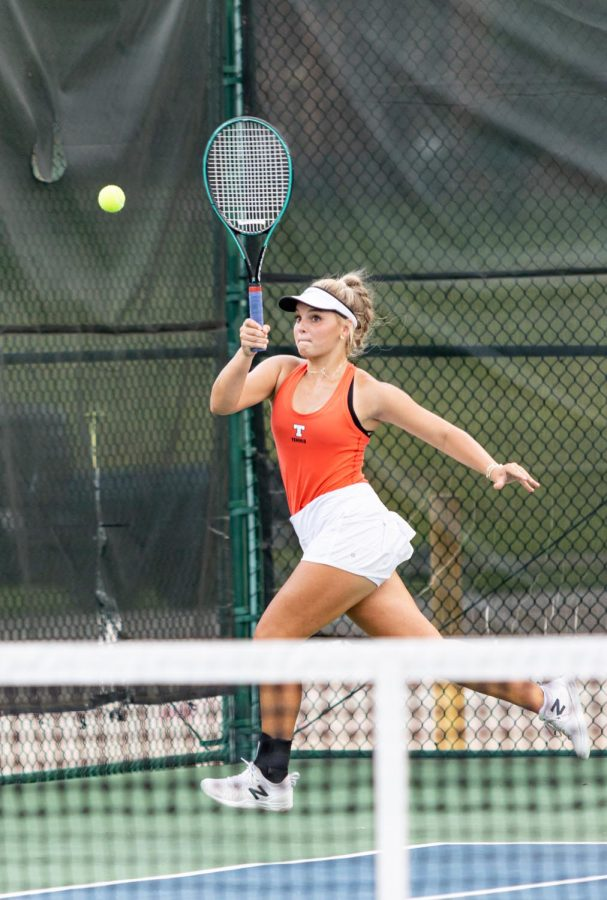 THS vs. Sulphur Springs varsity tennis