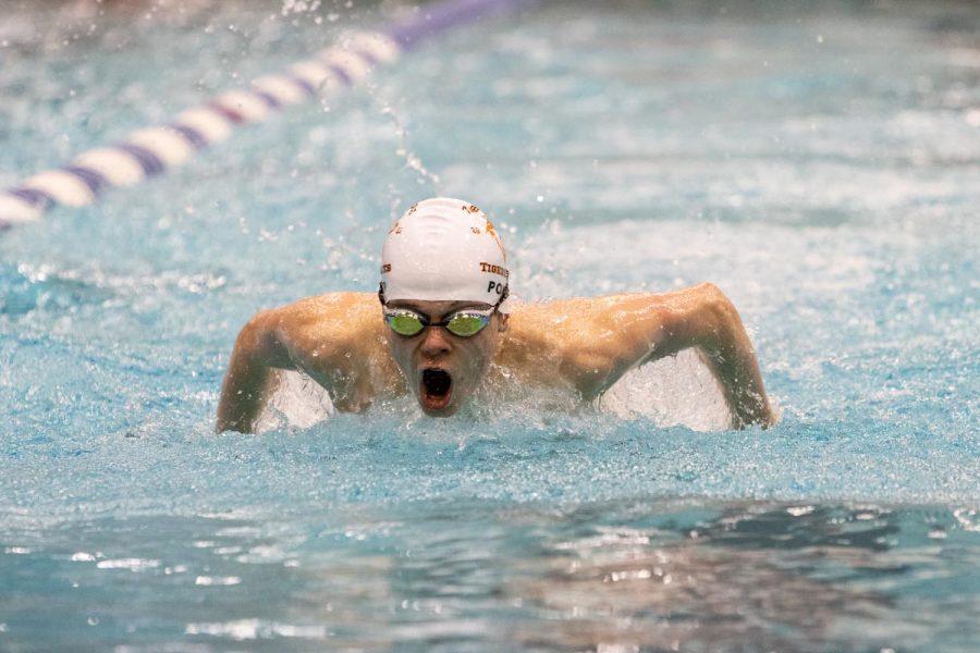 THS Regional swim meet