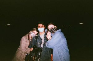 I wouldn't have made it through this year without these two (or without my disposable camera).